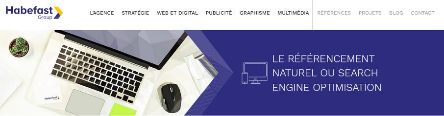 Habefast (Suisse romande) : du référencement efficace pour votre site !