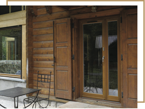 Huisseries Tryba en bois : le charme et l'efficacité généreusement garantis !