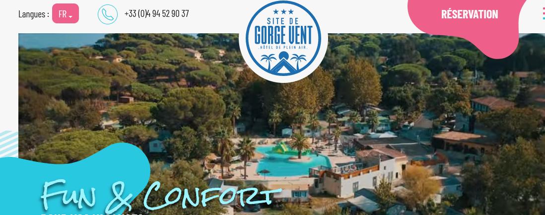 Gorge-Vent (camping de Fréjus !) : séjours originaux, amusants et conviviaux !